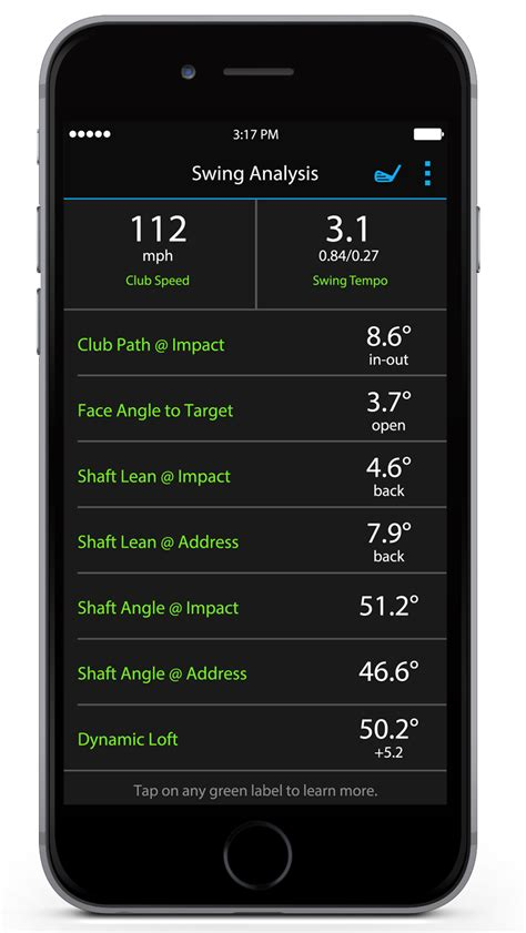 swing speed app introducing truswing the first golf club swing sensor