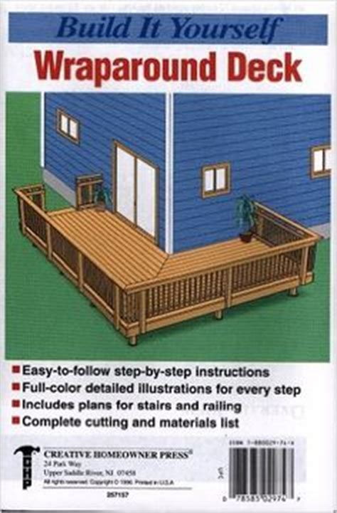 wrap around deck plans 1000 ideas about patio deck designs on patio