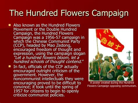 100 flowers from the china under mao zedong