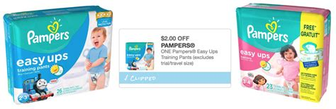 printable coupons pers easy ups new 2 1 pers easy ups training pants printable coupon
