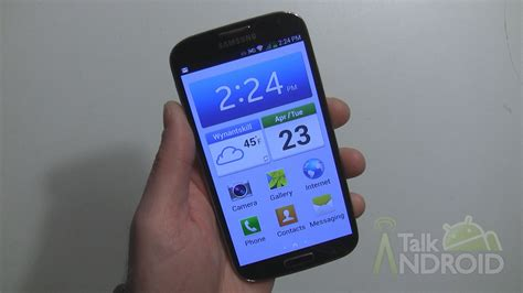 samsung mode for the beginner how to set the galaxy s 4 to easy mode talkandroid