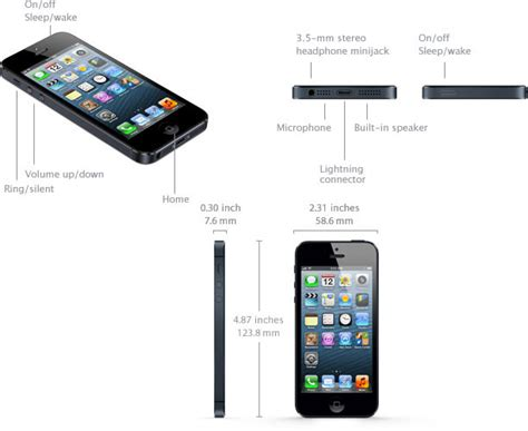 iphone 5 specifications specs in detail imore