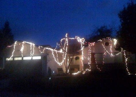 lazy christmas lights fail home garden do it yourself