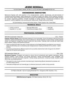 Sle Profile Template by Engineer Mechanical Resume Sales Mechanical Site