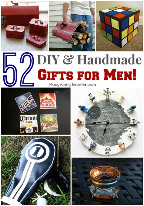 Handmade Gifts For Guys - 52 diy gifts for busy being