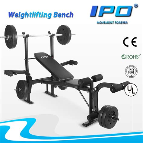 professional weight bench set professional gym equipment weight bench fitness multi station type weight bench