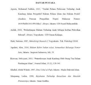 format daftar pustaka dari jurnal ilmiah cara menulis daftar pustaka lengkap dengan contohnya