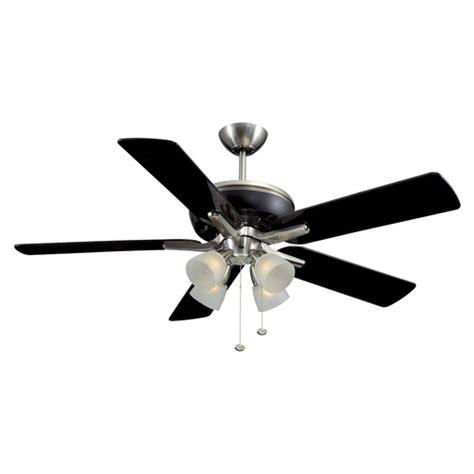 harbor galileo ceiling fan 169 harbor 52 quot brushed nickel ceiling fan