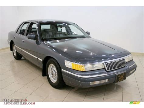 Grey Ls by 1993 Mercury Grand Marquis Ls In Opal Grey Metallic Photo