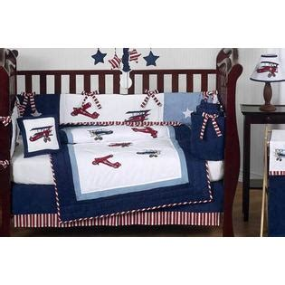 Vintage Aviator Crib Bedding Sweet Jojo Designs Vintage Aviator Collection 9pc Crib Bedding Set Baby Baby Bedding Baby