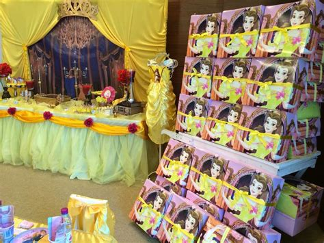 Beauty and the beast birthday party ideas photo 20 of 60 catch my party