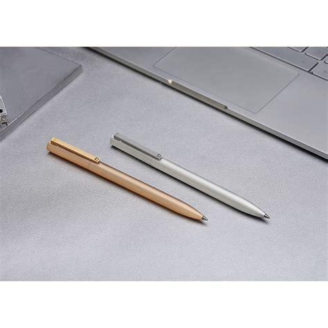 Pulpen Gel Kelinci 0 38mm Mc Xiaomi Mi Jia Metal Signature Pen Pulpen Original