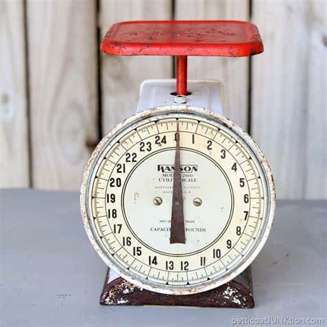 Vintage Kitchen Scales For Sale estate sale finds vintage kitchen scale petticoat