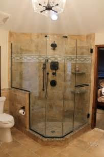Custom Bathroom Showers 145 Best Images About Tile Designs Bathrooms On Shower Tiles Drop In Tub And Custom