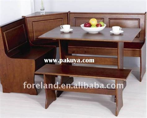 built in table and bench dining room sets with a bench built in dining nook corner
