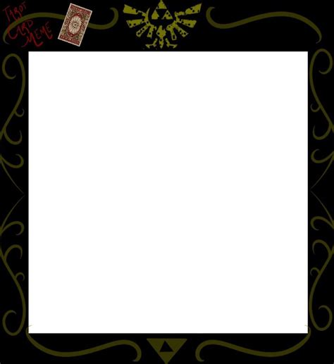 tarot card blank template foh tarot card meme template by follyoftheforbidden on