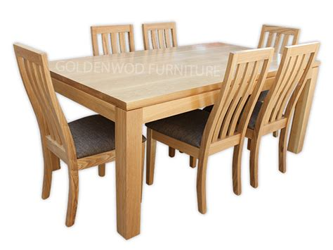 Tasmanian Oak Dining Table Tasmanian Oak Timber Dining Table Dt1800sg01 Toakgolden Wood Furniture