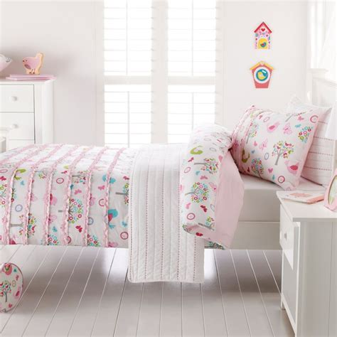 adairs coverlets adairs bedroom quilt covers coverlets chirpy bird