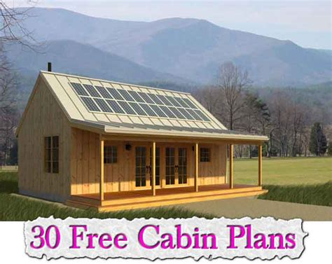 cabin blueprints free free micro cabin plans studio design gallery best