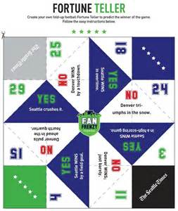 fan frenzy create your own fold up football fortune