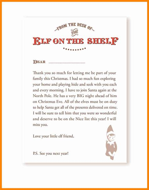 on the shelf template 9 on the shelf goodbye letter template assembly resume