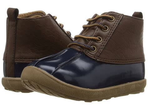 toddler duck boots baby deer duck boot infant toddler navy zappos