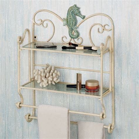 Sea Breeze Bath Wall Shelf Organizer