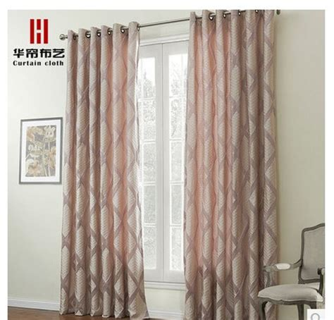 short curtains for living room pink korean finished curtains perforation short curtain