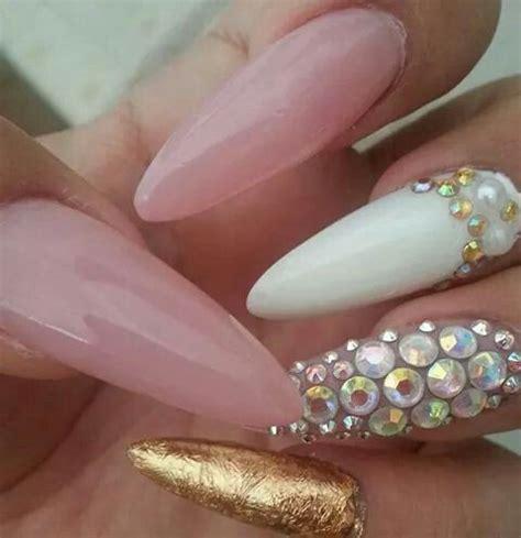 imagenes de uñas acrilicas picudas 17 mejores im 225 genes sobre u 241 as lindaa en pinterest arte