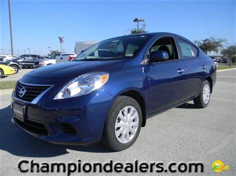 nissan versa blue 2012 blue onyx metallic nissan versa 1 6 sv sedan
