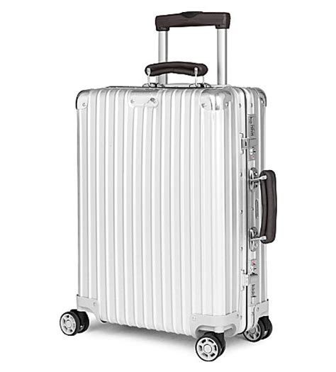 rimowa classic flight cabin rimowa classic flight four wheel cabin suitcase 55cm