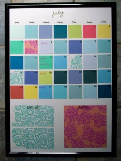 how to make a erase calendar from a picture frame 1000 ideas about erase calendar on