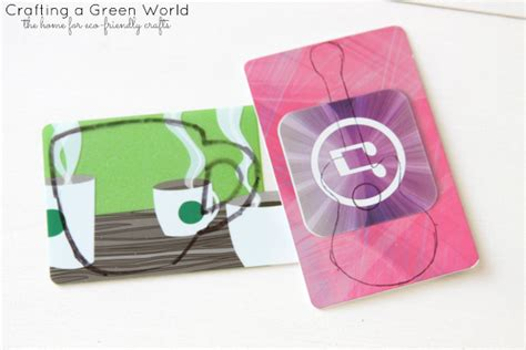 Where Can I Get A Guitar Center Gift Card - diy crafts recycle gift cards into unique keychains crafting a green world