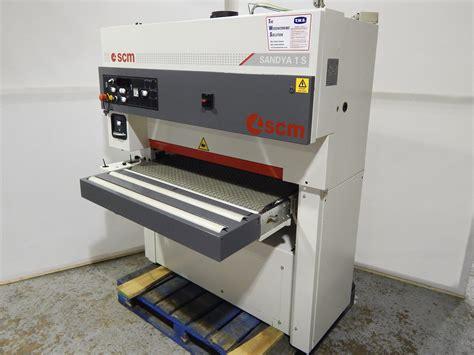 scm woodworking scm sandya 1s wide belt sander woodworking machine