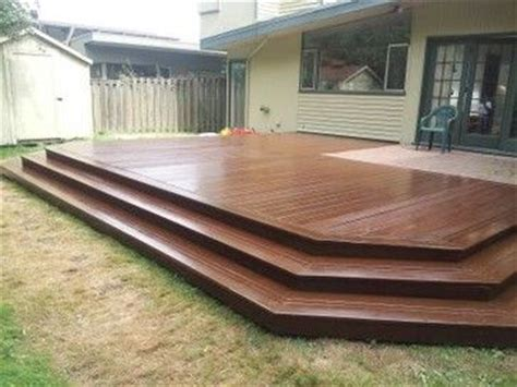 deck without railing google search outdoors pinterest