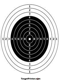 printable long range shooting targets 1000 images about targets on pinterest target shooting