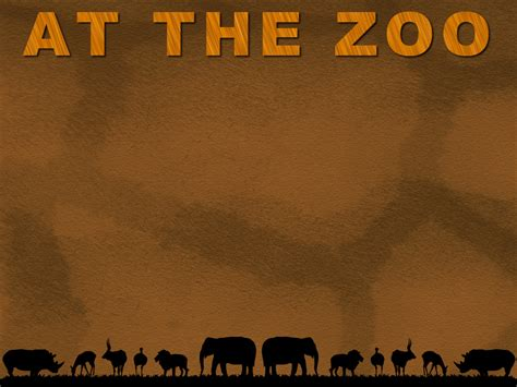 powerpoint templates zoo free at the zoo powerpoint template 2 adobe education exchange