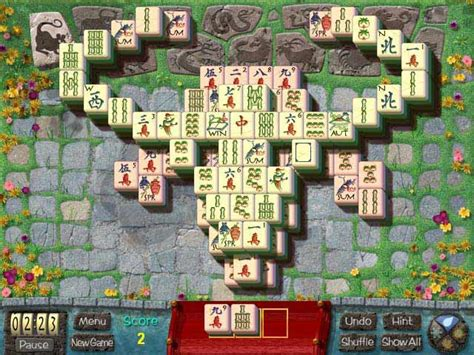 Garden Mahjong by Mahjong Garden To Go At Hiddenobjectgames Us