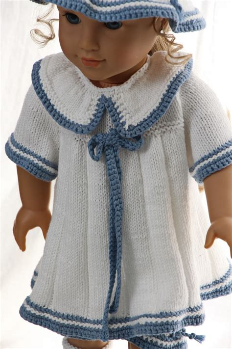 fashion doll knitting american doll knitted dress patterns sweater vest