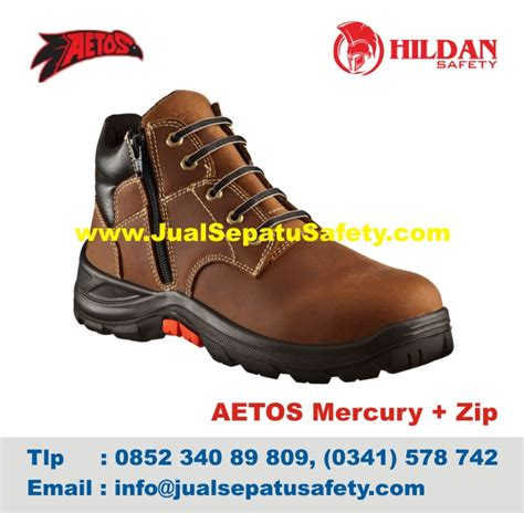 Sepatu Safety Impor Toko Grosir Sepatu Aetos Mercury Zip Harga Murah Jualsepatusafety