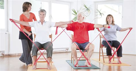 theraband exercises for the elderly livestrong