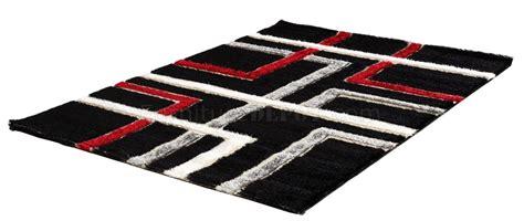 modern c8001 black area rug