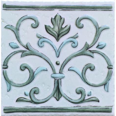 cenefa ceramica cenefa verde 15x15cm azulejos tienda online