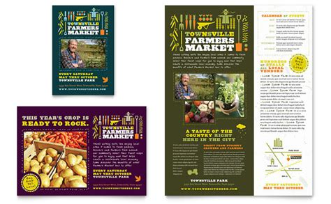 Farmers Market Flyer Ad Template Design Ad Flyer Template