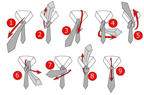 how to tie a tie easy step by step