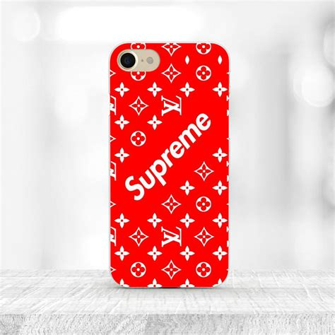 Casing Hardcase Hp Iphone 6 Plus Supreme X Black X4913 supreme iphone 6 4 7 zoll handy cover schutzh 252 lle handyh 252 lle michael chicago