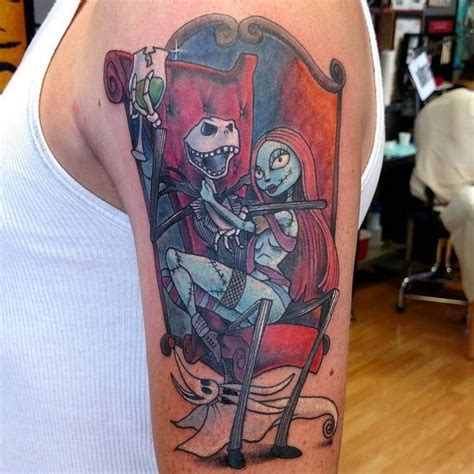 nightmare before christmas couples tattoos 22 best tattoos images on