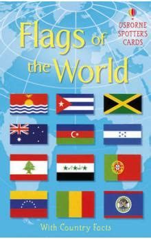 flags of the world usborne kniha flags of the world phil clarke knihy abz cz