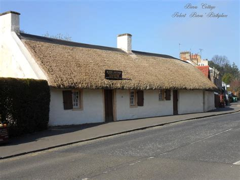 Burns Cottage by The Silverscrapper S Craft Space Trip To Robert Burns