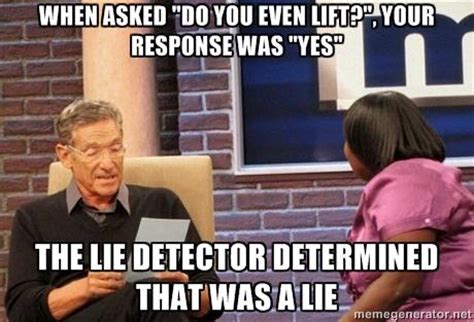 Maury Povich Lie Detector Meme - maury lie detector know your meme